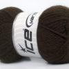 Lot of 6 Skeins Ice Yarns BABY SMALL Hand Knitting Yarn Dark Brown