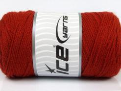 Lot of 2 x 200gr Skeins Ice Yarns SAVER Hand Knitting Yarn Copper