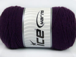 Lot of 2 x 200gr Skeins Ice Yarns SAVER Hand Knitting Yarn Purple