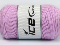 Lot of 2 x 200gr Skeins Ice Yarns SAVER Hand Knitting Yarn Lilac