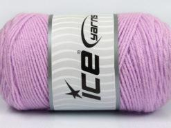 Lot of 2 x 200gr Skeins Ice Yarns SAVER Hand Knitting Yarn Lilac