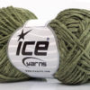 Lot of 8 Skeins Ice Yarns CACTUS TROPICAL Hand Knitting Yarn Khaki