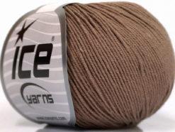 Lot of 4 Skeins Ice Yarns AMIGURUMI COTTON (60% Cotton) Yarn Camel