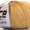 Lot of 4 Skeins Ice Yarns AMIGURUMI COTTON (60% Cotton) Yarn Light Brown