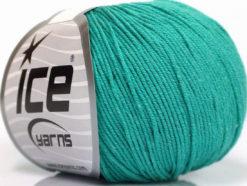Lot of 4 Skeins Ice Yarns AMIGURUMI COTTON (60% Cotton) Yarn Emerald Green