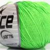 Lot of 4 Skeins Ice Yarns AMIGURUMI COTTON (60% Cotton) Yarn Light Green