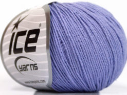 Lot of 4 Skeins Ice Yarns AMIGURUMI COTTON (60% Cotton) Yarn Lilac