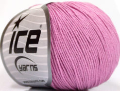 Lot of 4 Skeins Ice Yarns AMIGURUMI COTTON (60% Cotton) Yarn Light Orchid
