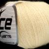 Lot of 6 Skeins Ice Yarns SILK MERINO (35% Silk 65% Merino Wool) Yarn Cream