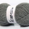 Lot of 2 x 150gr Skeins Ice Yarns SuperBulky ALPINE (45% Wool) Yarn Grey