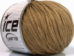 Lot of 8 Skeins Ice Yarns RIBBON WOOL (50% Wool) Hand Knitting Yarn Beige