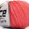 Lot of 6 Skeins Ice Yarns SILK MERINO (35% Silk 65% Merino Wool) Yarn Pink