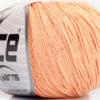 Lot of 4 Skeins Ice Yarns AMIGURUMI COTTON (60% Cotton) Yarn Light Salmon