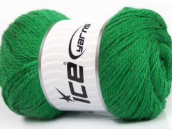 Lot of 4 x 100gr Skeins Ice Yarns NORSK (45% Alpaca 25% Wool) Yarn Green