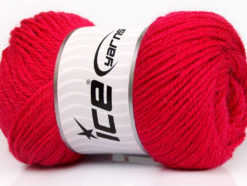 Lot of 4 x 100gr Skeins Ice Yarns NORSK (45% Alpaca 25% Wool) Yarn Fuchsia