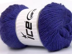 Lot of 4 x 100gr Skeins Ice Yarns NORSK FINE (45% Alpaca 25% Wool) Yarn Lavender