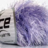 Lot of 8 Skeins Ice Yarns EYELASH COLORFUL Hand Knitting Yarn Lilac Shades