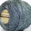 Lot of 10 Skeins YarnArt CAMELLIA (30% Metallic) Hand Knitting Yarn Grey Silver