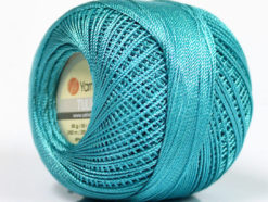 Lot of 6 Skeins YarnArt TULIP (100% MicroFiber) Hand Knitting Yarn Turquoise
