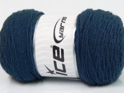 Lot of 2 x 200gr Skeins Ice Yarns SAVER Hand Knitting Yarn Navy