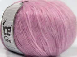 Lot of 8 Skeins Ice Yarns ALPACA SOFTAIR (25% Alpaca 15% Superwash Merino Wool) Yarn Orchid