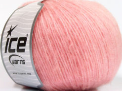 Lot of 8 Skeins Ice Yarns ALPACA SOFTAIR (25% Alpaca 15% Superwash Merino Wool) Yarn Pink