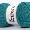 Lot of 4 x 100gr Skeins Ice Yarns ELITE WOOL (30% Wool) Yarn Emerald Green