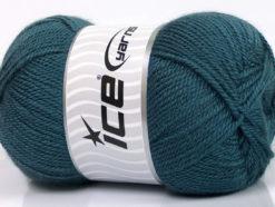 Lot of 4 x 100gr Skeins Ice Yarns DORA Hand Knitting Yarn Indigo Blue