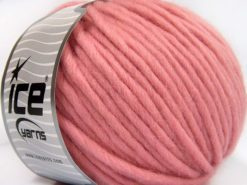 Lot of 4 x 100gr Skeins Ice Yarns PURE WOOL SUPERBULKY (100% Australian Wool) Yarn Pink