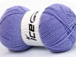 Lot of 4 x 100gr Skeins Ice Yarns BAMBOO SOFT FINE (50% Bamboo) Yarn Lilac
