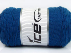 Lot of 2 x 200gr Skeins Ice Yarns SAVER Hand Knitting Yarn Blue
