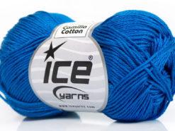 Lot of 6 Skeins Ice Yarns CAMILLA COTTON (100% Mercerized Cotton) Yarn Dark Blue