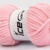 Lot of 4 x 100gr Skeins Ice Yarns CHENILLE BABY (100% MicroFiber) Yarn Light Pink