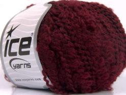 Lot of 8 Skeins Ice Yarns NODONE Hand Knitting Yarn Burgundy