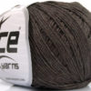 Lot of 8 Skeins Ice Yarns NATURAL COTTON BABY (100% Cotton) Yarn Brown