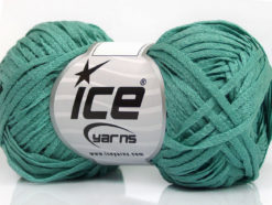 Lot of 8 Skeins Ice Yarns VIOLINO Hand Knitting Yarn Mint Green