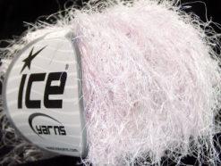 Lot of 8 Skeins Ice Yarns TECHNO BULKY Hand Knitting Yarn Pinkish White