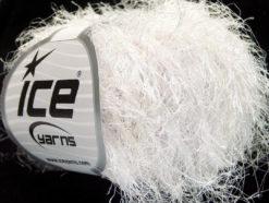 Lot of 8 Skeins Ice Yarns TECHNO BULKY Hand Knitting Yarn White Melange
