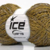 Lot of 8 Skeins Ice Yarns DOPPIO LANA (44% Wool) Hand Knitting Yarn Khaki Camel