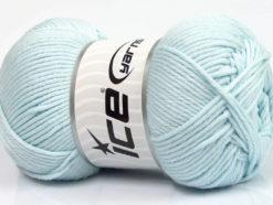 Lot of 3 x 100gr Skeins Ice Yarns BABY COMFORT Hand Knitting Yarn Light Blue