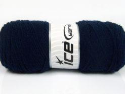 Lot of 4 x 100gr Skeins Ice Yarns BONITO (50% Wool) Hand Knitting Yarn Navy