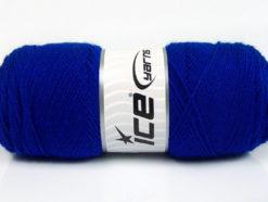 Lot of 4 x 100gr Skeins Ice Yarns BONITO (50% Wool) Hand Knitting Yarn Blue