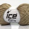 Lot of 8 Skeins Ice Yarns FETTUCCIA FINE Hand Knitting Yarn Beige