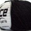 Lot of 8 Skeins Ice Yarns SALE SUMMER (10% Cotton) Hand Knitting Yarn Black
