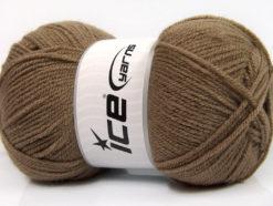Lot of 4 x 100gr Skeins Ice Yarns GONCA Hand Knitting Yarn Camel