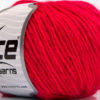 Lot of 8 Skeins Ice Yarns WOOL CORD ARAN (50% Wool) Yarn Candy Pink