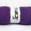 Lot of 4 x 100gr Skeins Ice Yarns BONITO (50% Wool) Hand Knitting Yarn Lavender