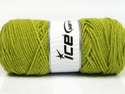 Lot of 4 x 100gr Skeins Ice Yarns SAVER 100 Hand Knitting Yarn Light Green