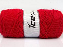 Lot of 4 x 100gr Skeins Ice Yarns SAVER 100 Hand Knitting Yarn Dark Fuchsia