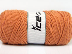 Lot of 4 x 100gr Skeins Ice Yarns SAVER 100 Hand Knitting Yarn Tobacco